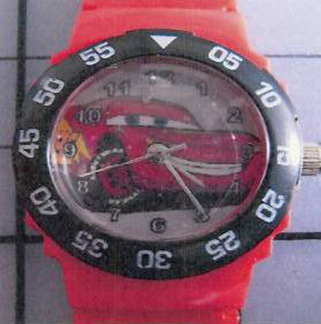 a1aa317a8 dTest: Dětské hodinky - Kik - Kinderuhr - nebezpečné výrobky