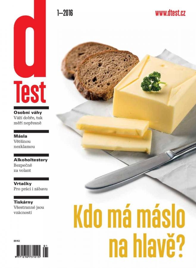 dTest  Časopis 1 2016 - Testy a recenzie výrobkov 32a59bd31e8