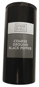 Marks & Spencer/Cook with M&S Coarse Ground Black Pepper