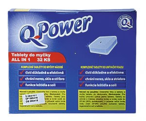 Q-Power Tablety do myčky All in 1