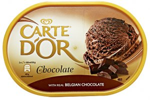 Carte D'Or Chocolate with Real Belgian Chocolate