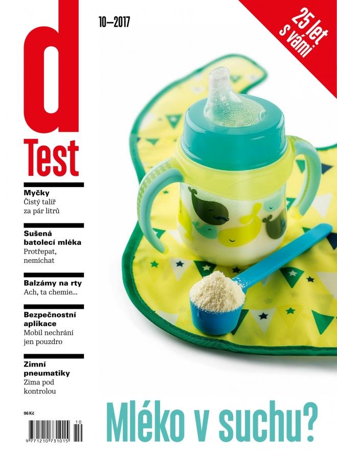 dTest  Časopis 10 2017 - Testy a recenzie výrobkov ec09e2f4aa3