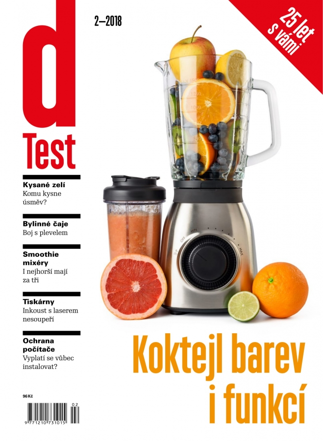 dTest  Časopis 2 2018 - Testy a recenzie výrobkov 3fde81deb78