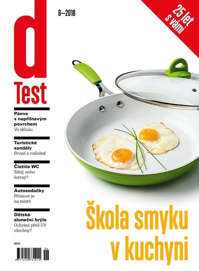dTest  Časopis 6 2018 - Testy a recenzie výrobkov ae1d0ab997d