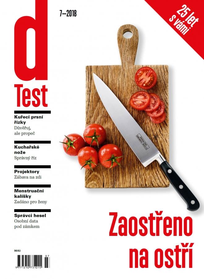 dTest  Časopis 7 2018 - Testy a recenzie výrobkov 0cbf76f24c5