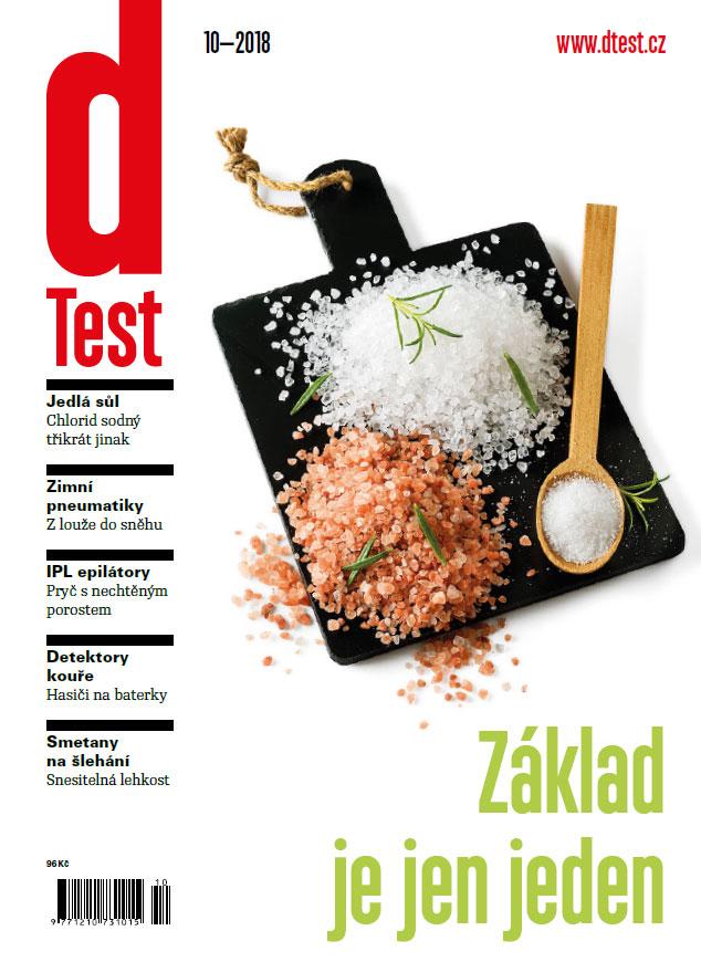 dTest  Časopis 10 2018 - Testy a recenzie výrobkov 2529ed2ae49