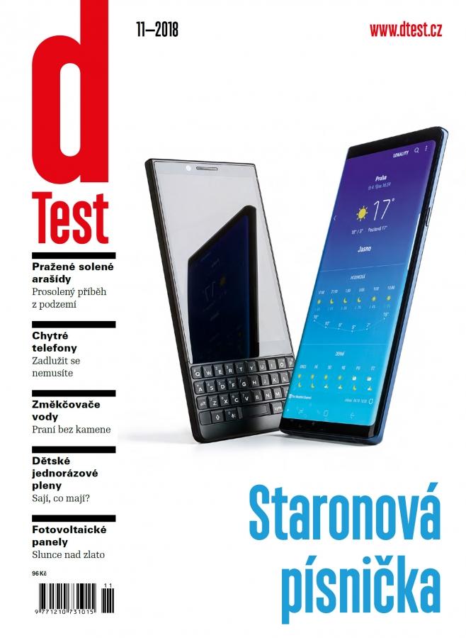 dTest  Časopis 11 2018 - Testy a recenzie výrobkov b752e6c94f7