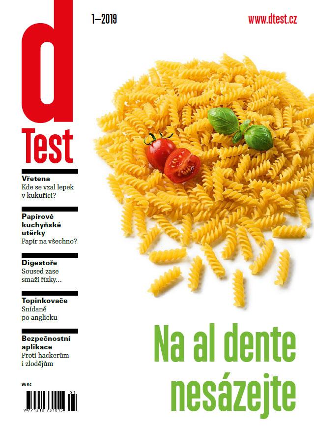 dTest  Časopis 1 2019 - Testy a recenzie výrobkov ad9c610f51c