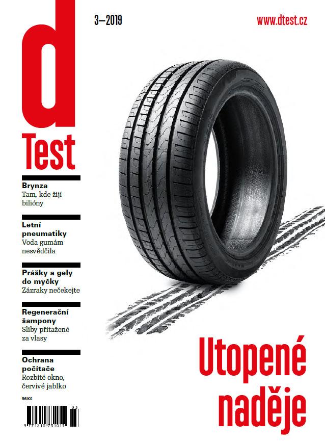 dTest  Časopis 3 2019 - Testy a recenzie výrobkov 835073098ef